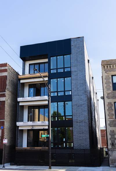 Condo/Townhouse New: 1437 West Grand Avenue #2