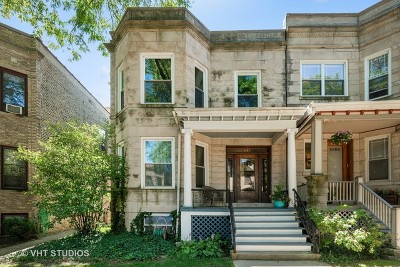 Chicago Multi Family Home New: 1421 West Balmoral Avenue
