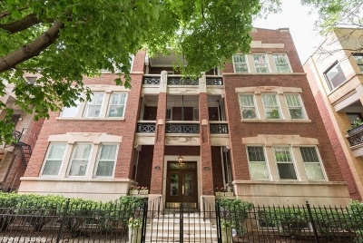 Chicago Condo/Townhouse New: 448 West Wrightwood Avenue #2