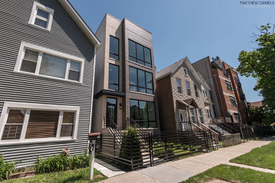 Chicago Condo/Townhouse New: 2430 West Moffat Street #1
