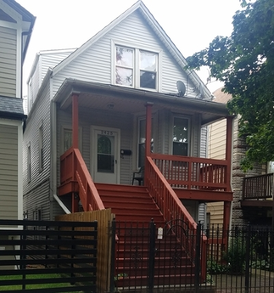 Chicago Multi Family Home New: 2425 North Lawndale Avenue