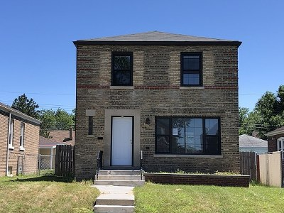 Chicago Single Family Home New: 9819 South Woodlawn Avenue