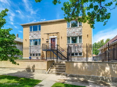 Chicago Single Family Home New: 6332 West School Street