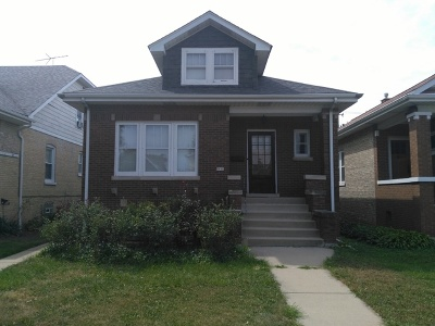 Chicago Single Family Home New: 6005 West Patterson Avenue