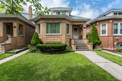 Chicago Single Family Home New: 4320 North Menard Avenue