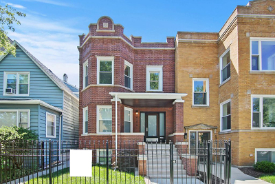 Chicago Single Family Home New: 4306 North Troy Street