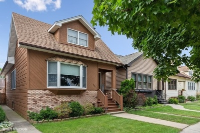 Chicago Single Family Home New: 6817 West Highland Avenue