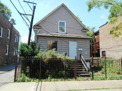 Chicago Single Family Home New: 1150 North Parkside Avenue