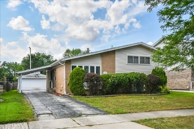 Tinley Park Single Family Home New: 16444 67th Court