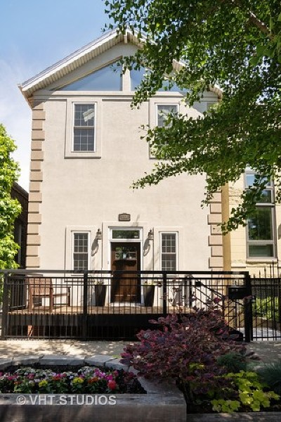 Single Family Home New: 1708 West Wabansia Avenue