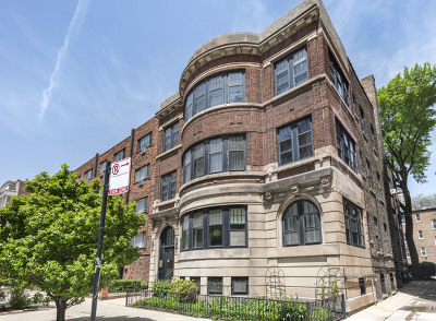 Chicago Condo/Townhouse New: 442 West Melrose Street #1