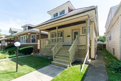 Chicago IL Single Family Home New: $205,000