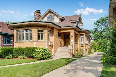 Oak Park Single Family Home For Sale: 932 North Oak Park Avenue