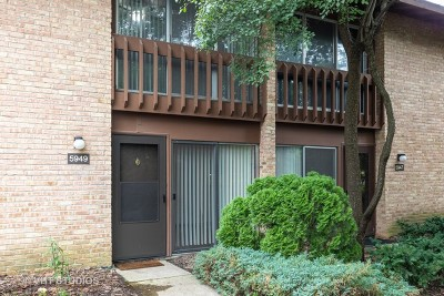 Lisle Condo/Townhouse For Sale: 5949 Meadow Drive #5949