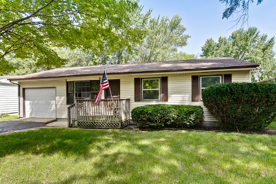 McHenry Single Family Home For Sale: 4812 Willow Lane