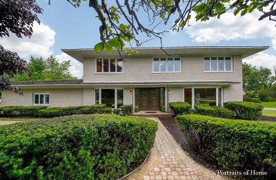 Oak Brook Single Family Home New: 10 Camelot Drive