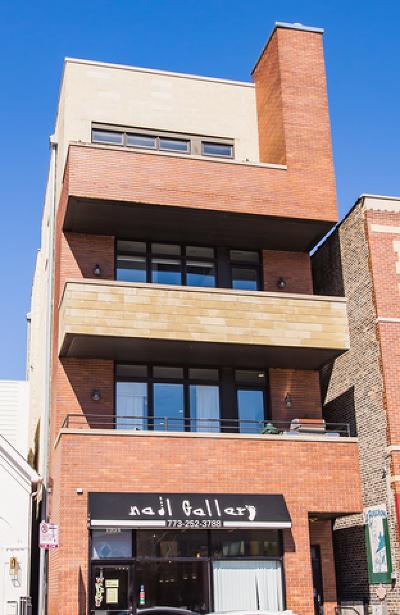 Condo/Townhouse For Sale: 1954 North Damen Avenue #2