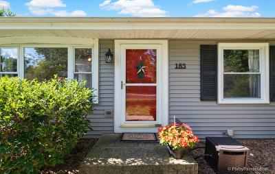 Oswego Single Family Home Contingent: 183 Dolores Street