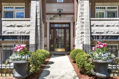 Chicago Condo/Townhouse New: 5722 North Winthrop Avenue #2S