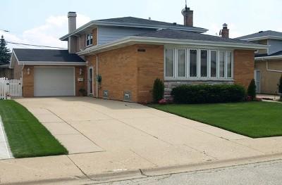 Chicago Single Family Home New: 8507 West Winona Street