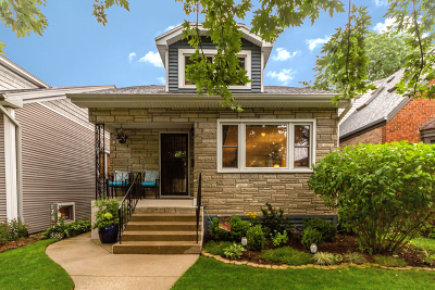 Chicago Single Family Home New: 5921 North Leonard Avenue