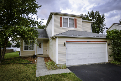 Plainfield Single Family Home Contingent: 2222 Candlewood Drive