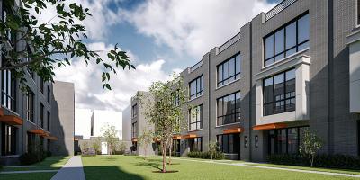 Condo/Townhouse New: 525 North Bishop Street #1