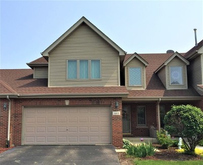 Lisle Condo/Townhouse For Sale: 443 Lawrence Lane