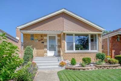 Chicago Single Family Home New: 5151 South Newcastle Avenue