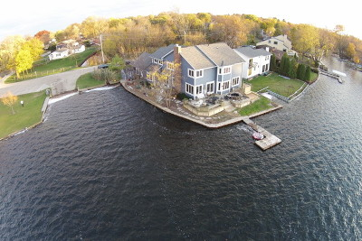 Grayslake Single Family Home Contingent: 33250 North Island Avenue