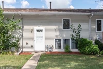 Plainfield Condo/Townhouse New: 16216 Washington Court