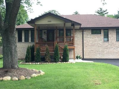 Wood Dale Single Family Home For Sale: 265 Edgebrook Road