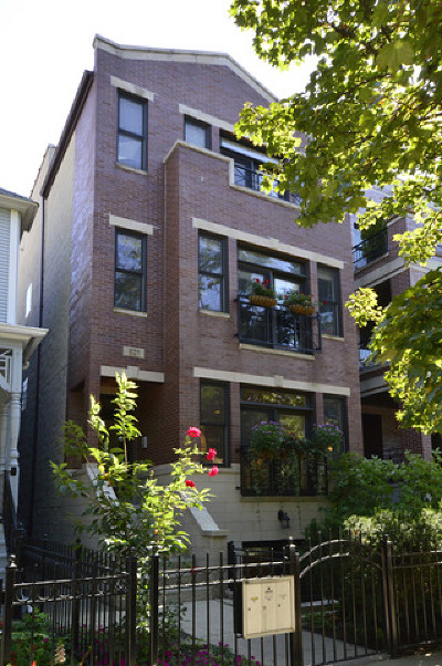 Chicago Condo/Townhouse New: 821 West Wrightwood Avenue #1