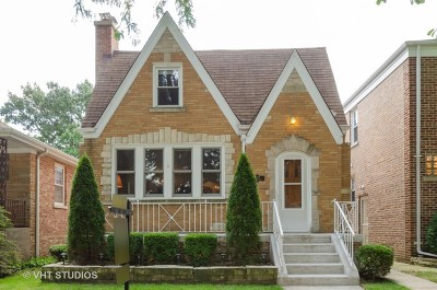 Chicago Single Family Home New: 5827 North Forest Glen Avenue