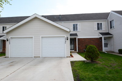 Hanover Park Condo/Townhouse New: 7721 Bolton Way