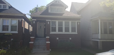 Chicago Single Family Home New: 7117 South Peoria Street