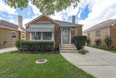 Chicago Single Family Home New: 5116 North Nordica Avenue