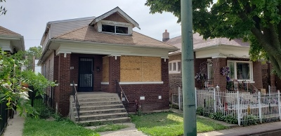 Chicago Single Family Home New: 6129 South Maplewood Avenue