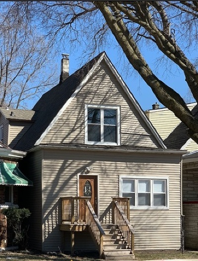 Chicago Single Family Home New: 8327 South Constance Avenue