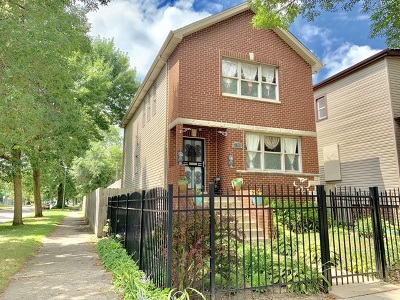 Chicago Single Family Home New: 7658 South Greenwood Avenue