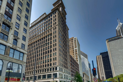 Chicago Condo/Townhouse New: 6 North Michigan Avenue North #1204