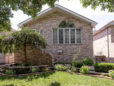 Chicago, Aurora, Elgin, Hammond, Joliet, Kenosha, Michigan City, Naperville Single Family Home New: 6733 West 64th Place