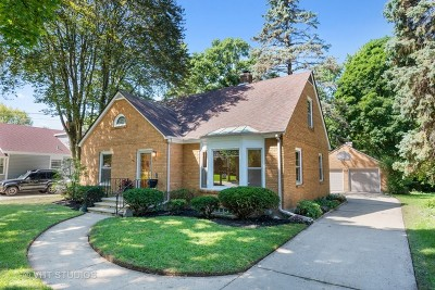 Elgin Single Family Home New: 120 Mallery Avenue