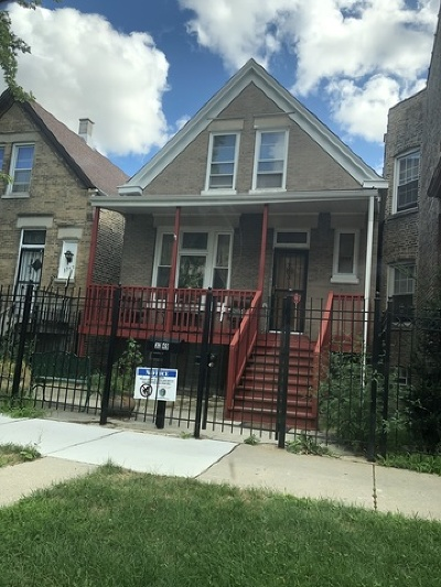 Chicago Single Family Home New: 3349 West Hirsch Street