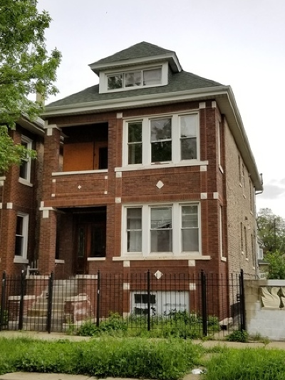 Chicago Multi Family Home New: 3116 West 40th Place