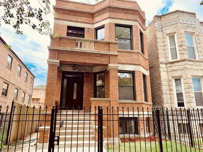 Chicago Single Family Home New: 6648 South Drexel Avenue