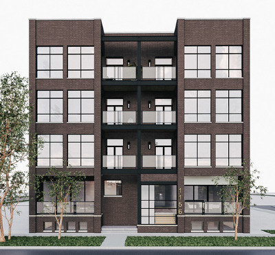Chicago, Aurora, Elgin, Hammond, Joliet, Kenosha, Michigan City, Naperville Condo/Townhouse New: 1156 West Ohio Street #3W