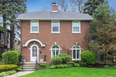 Western Springs Single Family Home For Sale: 5009 Woodland Avenue