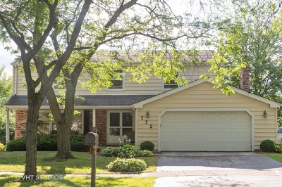 Westmont Single Family Home For Sale: 772 Oakwood Drive