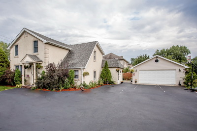 Des Plaines Single Family Home Price Change: 10166 Potter Road